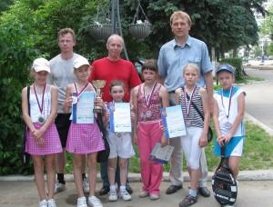 Победители турнира лагеря