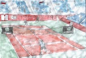 """Ежегодный конкурс """"Я рисую теннис"""""""